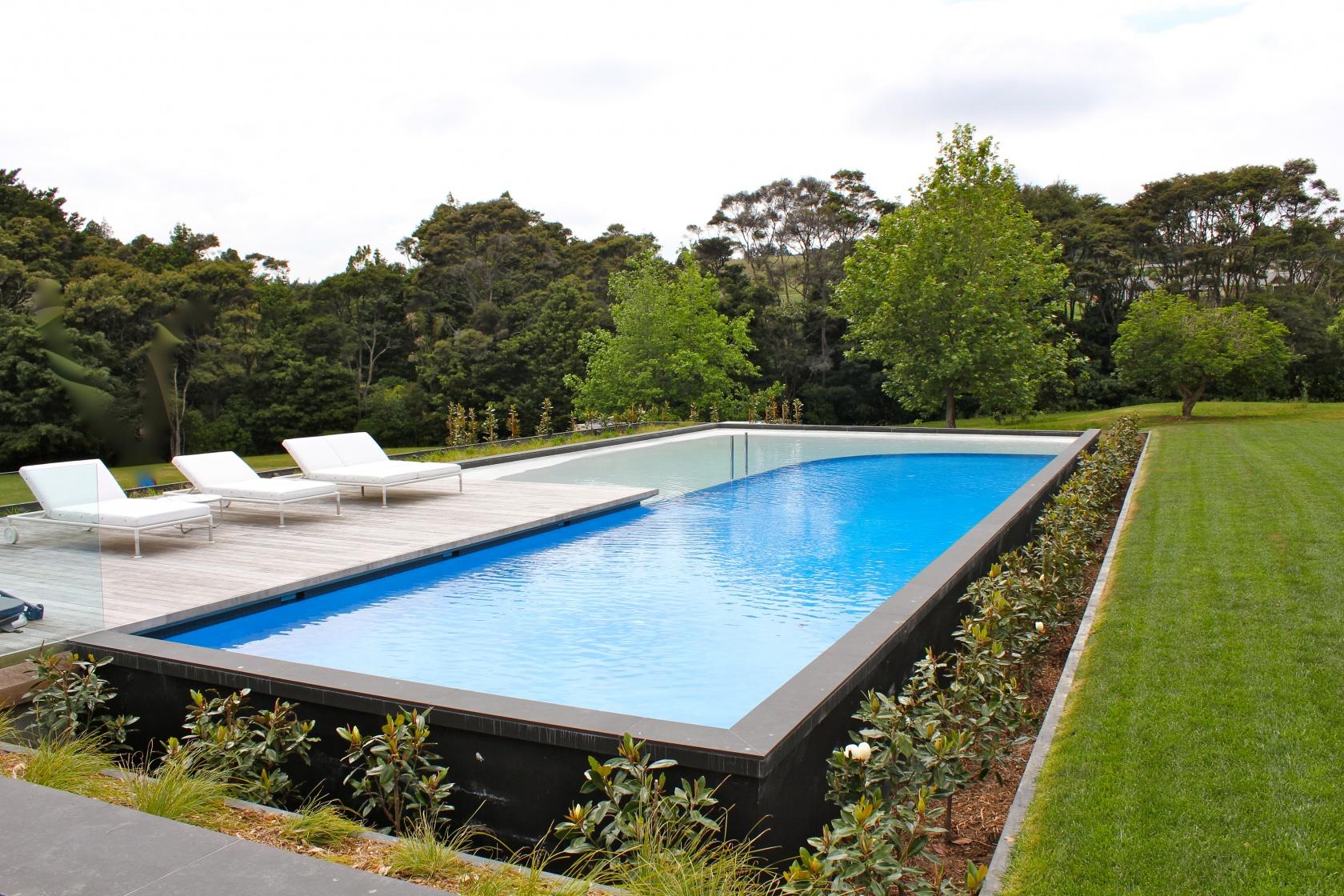 Contemporary Coatsville Pool
